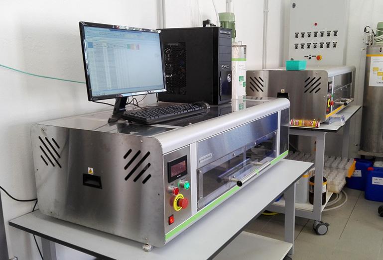 Laboratorio donde realizamos análisis de suelo agrícola