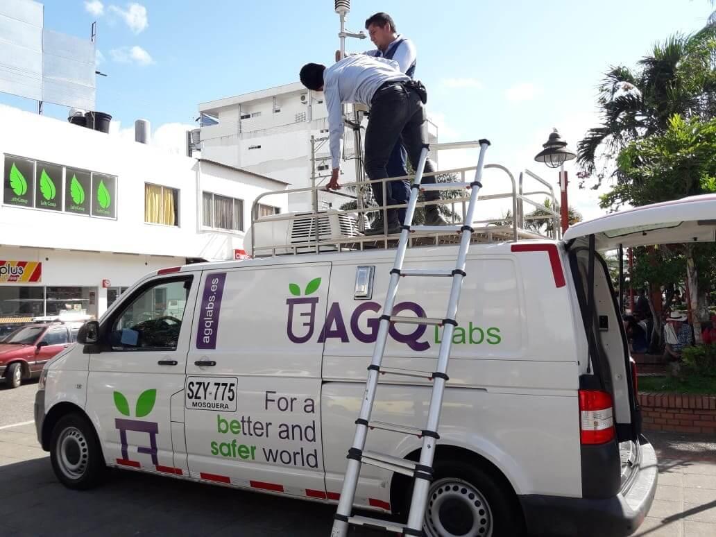 AGQ Labs apoya el seguimiento de la calidad del aire