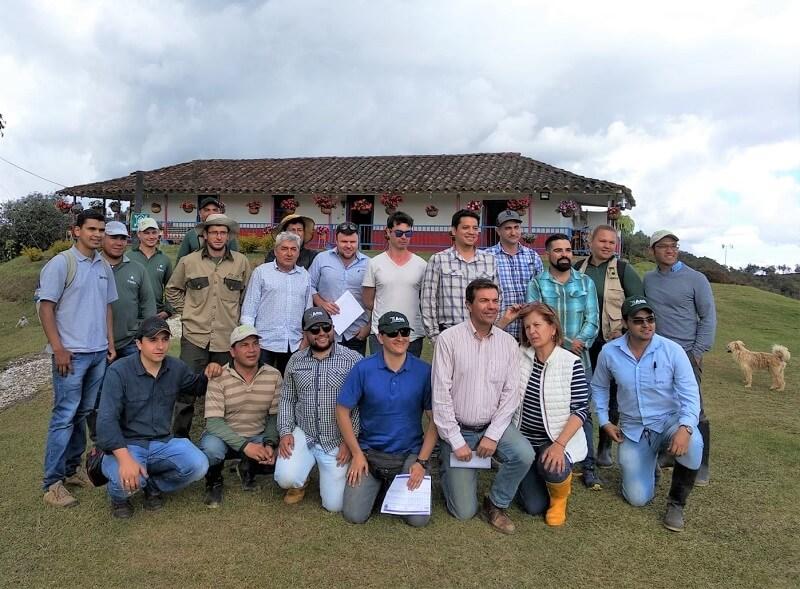 Encuentro de agrónomos en Colombia