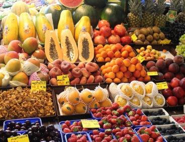 Análisis de fruta y composición nutricional