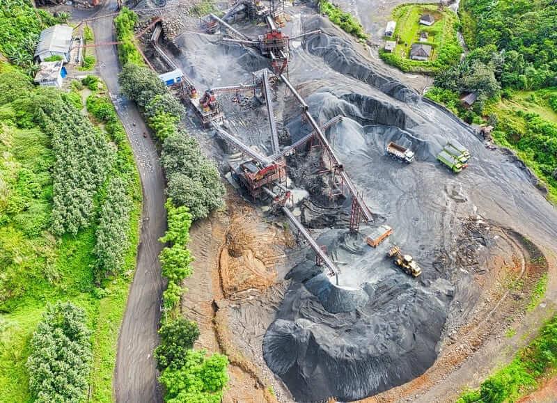 Caracterizacion geoquimica de area mineras