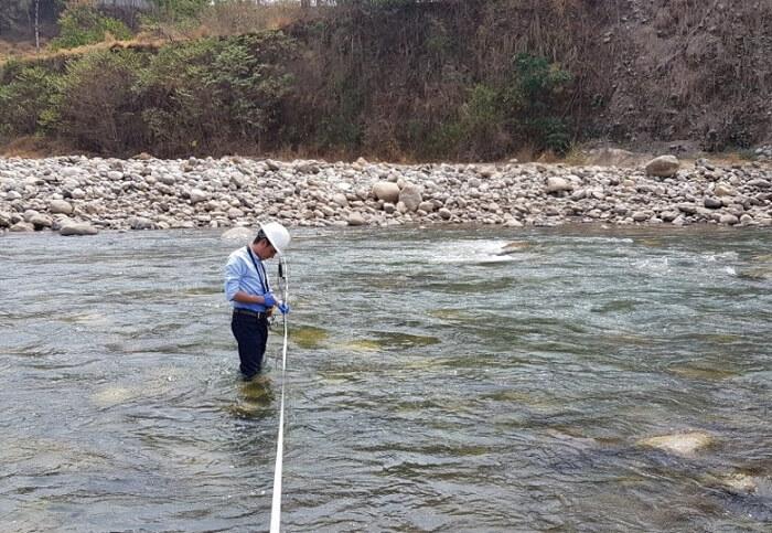 Monitoreos de aforos en masas de agua Colombia